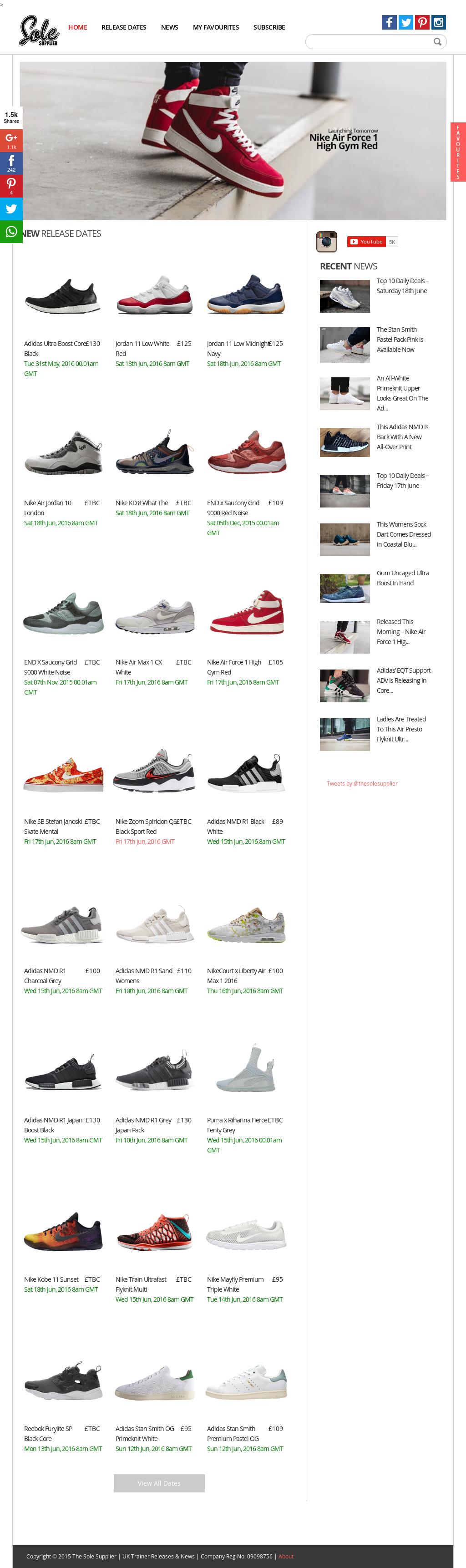 Release Thu 26th Mar, 2015 8am Gmt Nike Air Max 1 Ultra
