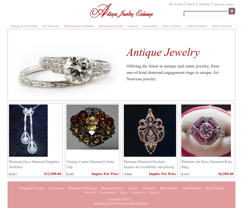Antique Jewelry Exchange Competitors, Revenue And