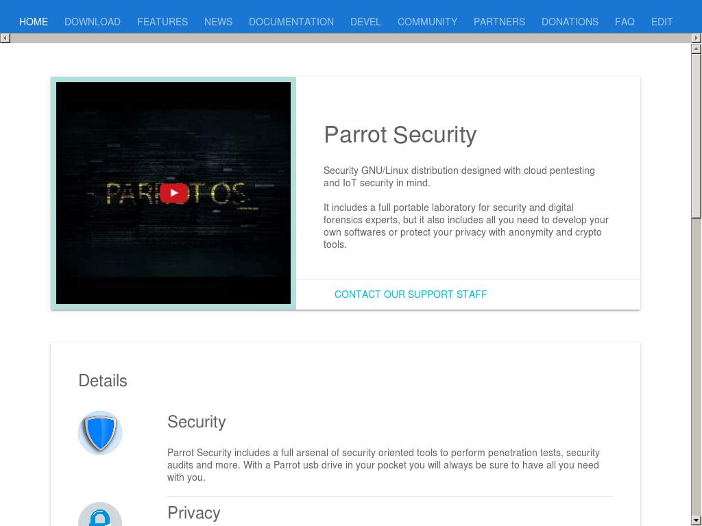 Owler Reports - Parrot Security Os: Parrot Security OS 3 5