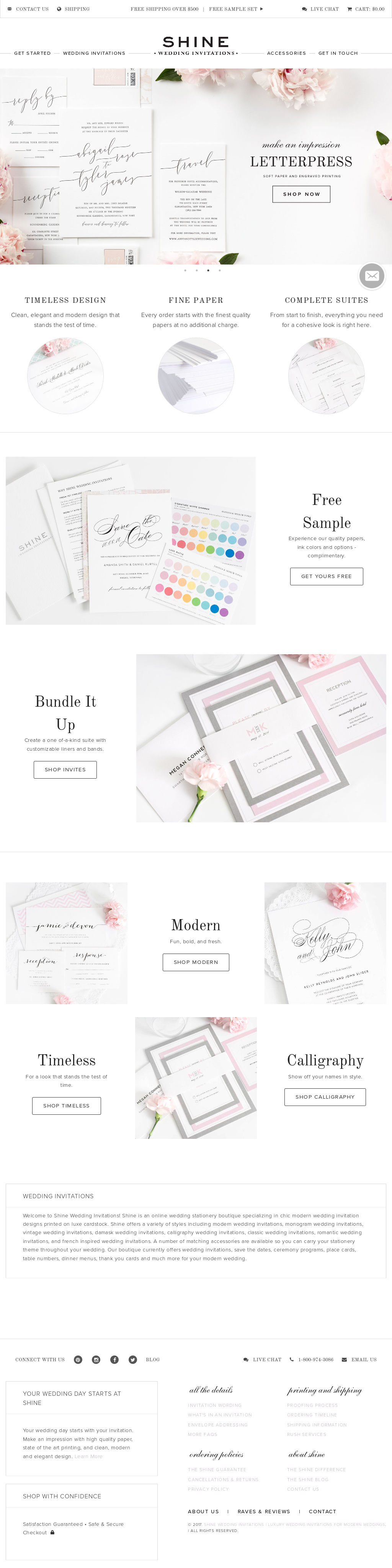 Shine Wedding Invitations Competitors, Revenue and Employees - Owler ...