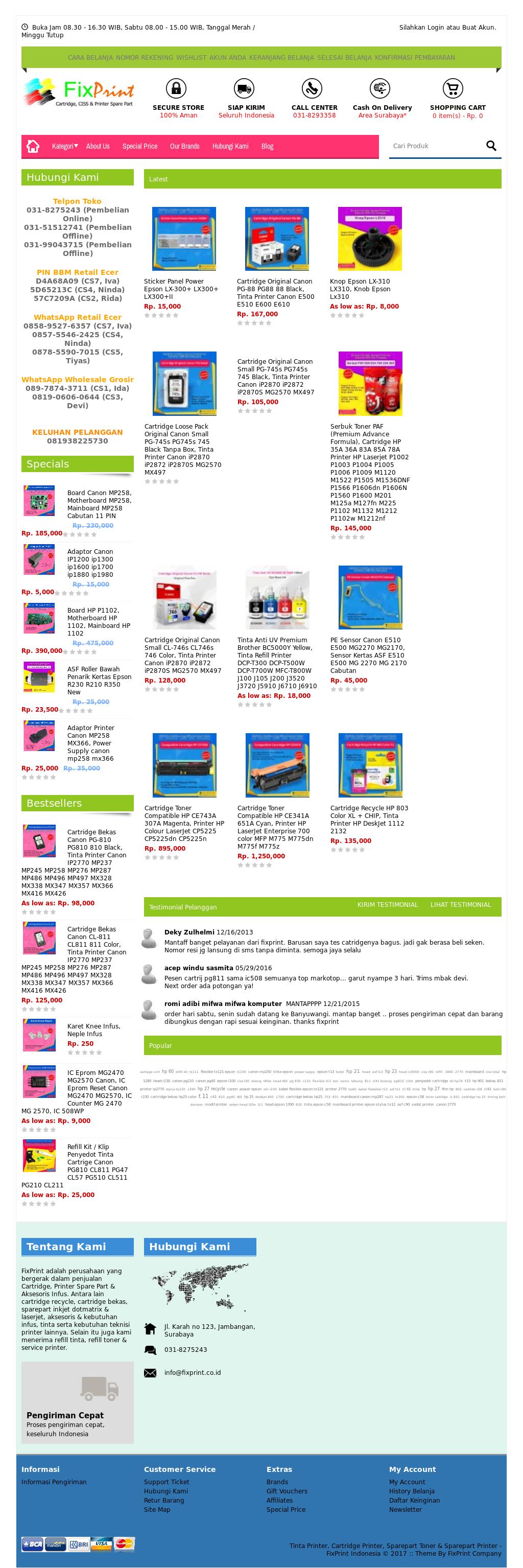 Fixprint Competitors Revenue And Employees Owler Company Profile Asf Roller Penarik Kertas Epson L110 L210 L300 L350 Original New Fixprints Website Screenshot On Mar 2017