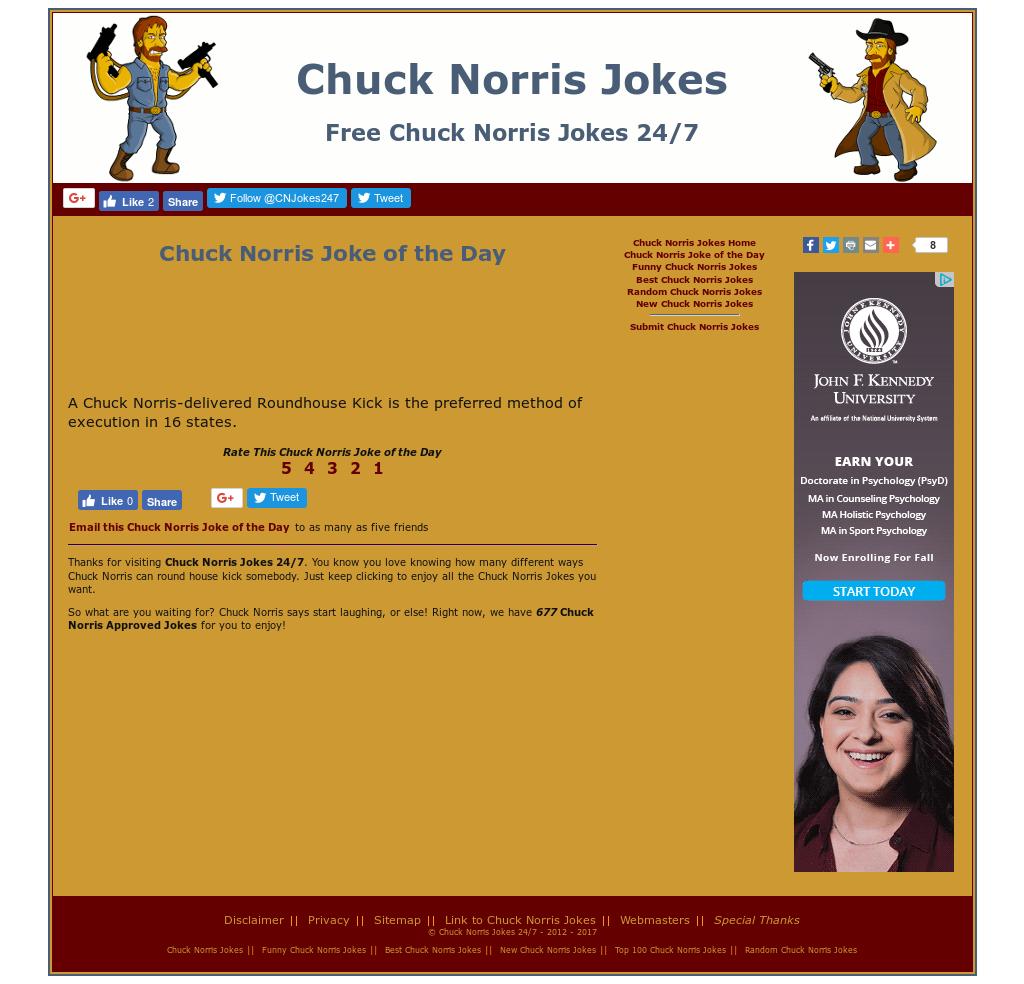 top 100 chuck norris