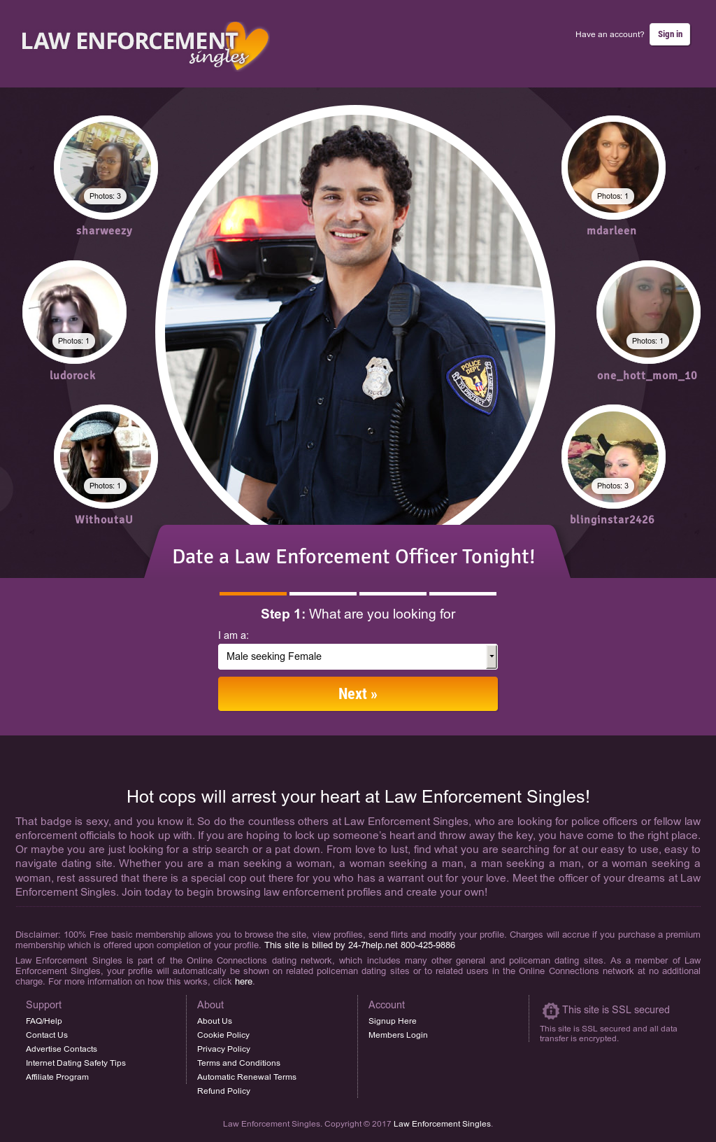 Law enforcement singles dating — photo 7
