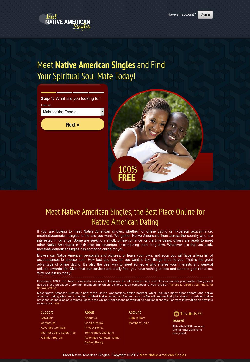 Native American online datingbra dating steder i Kuala Lumpur