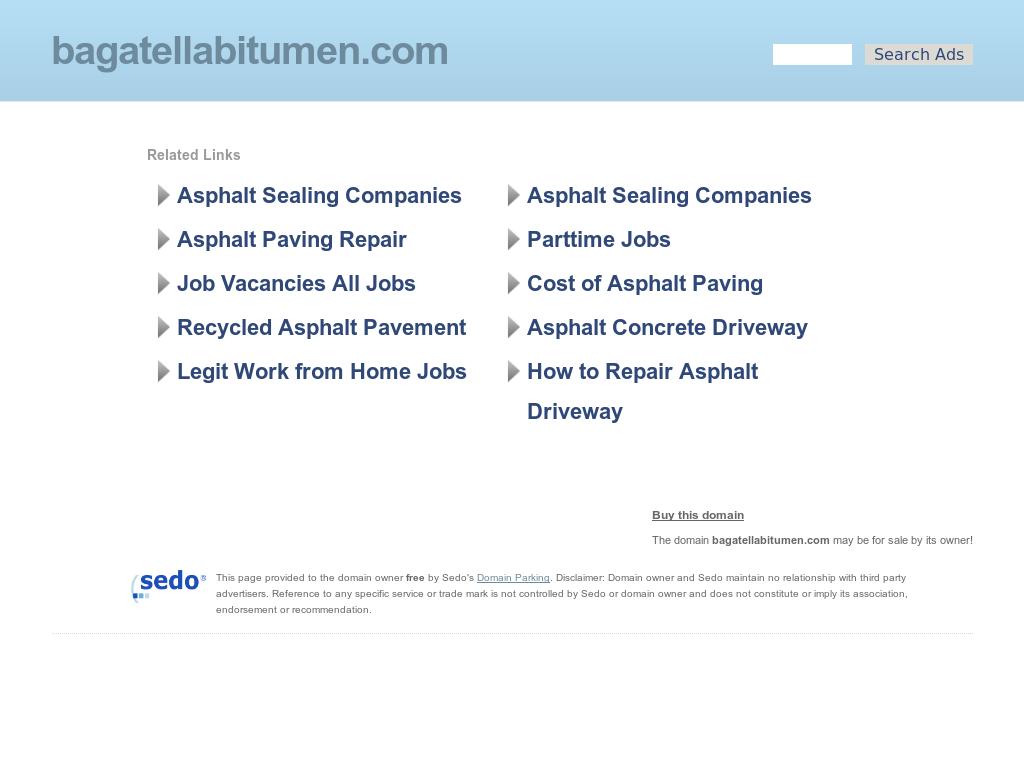 Bagatella Bitumen Competitors, Revenue and Employees - Owler Company