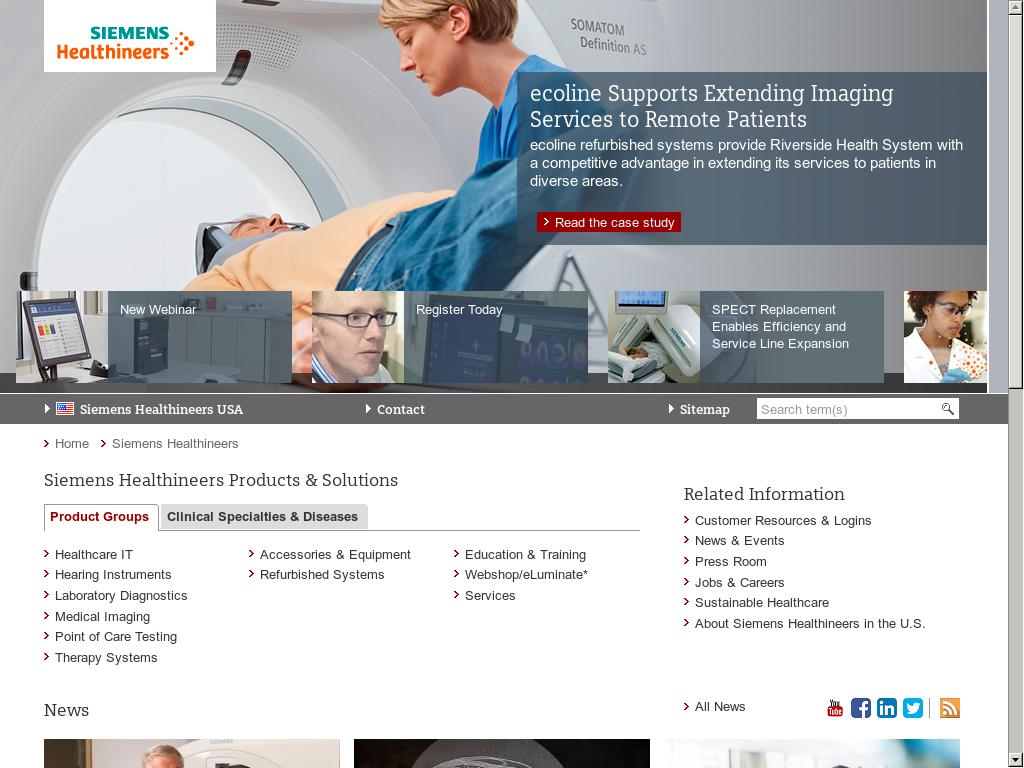Siemens Healthineers Competitors, Revenue and Employees - Owler