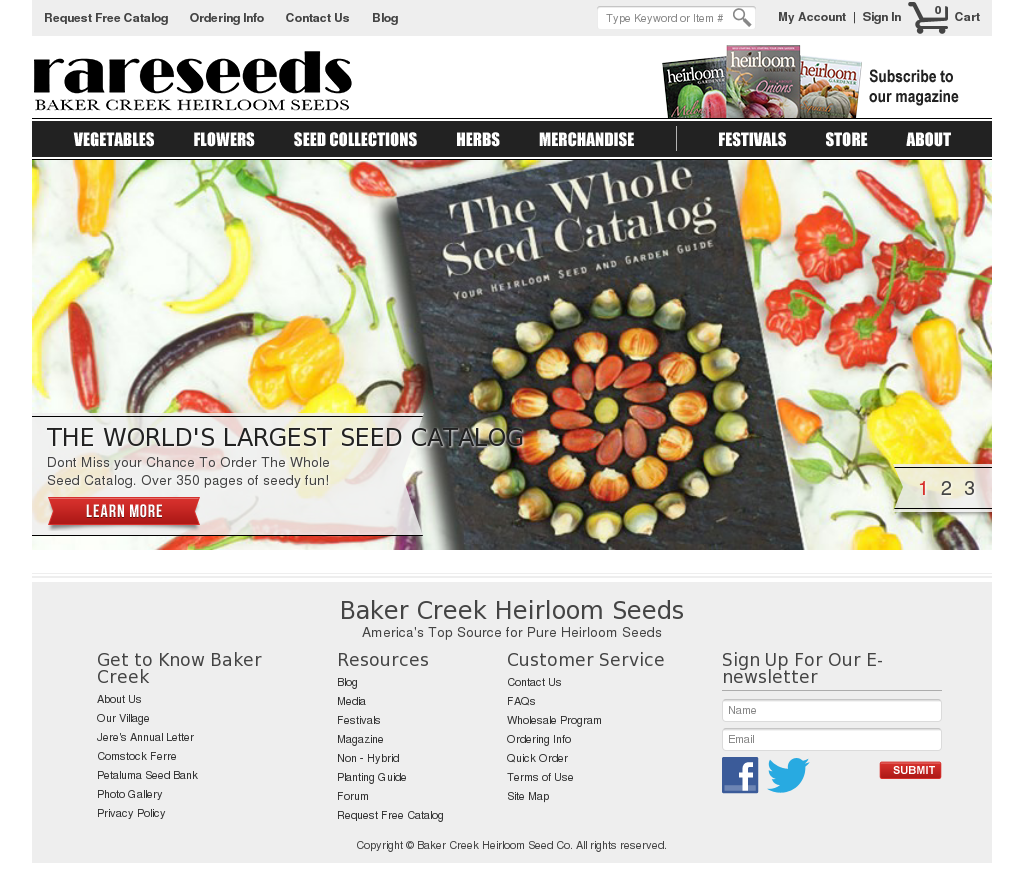 baker creek heirloom seed company review