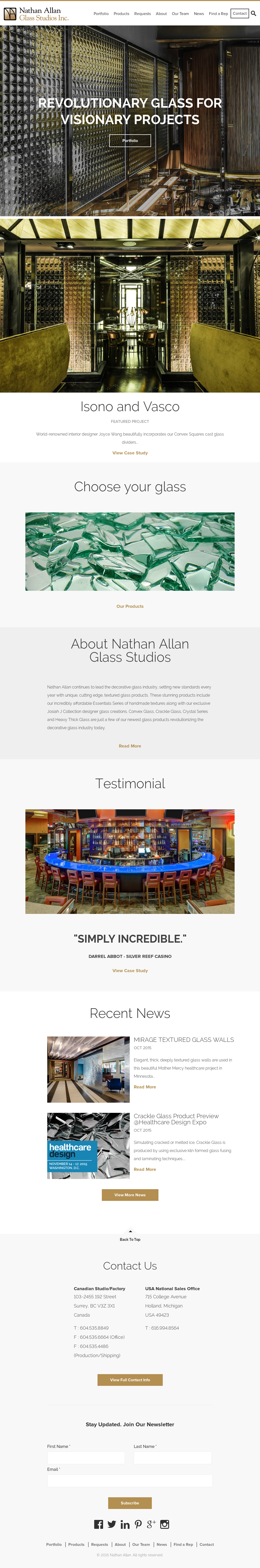 Nathan Allan Glass Studios Competitors, Revenue and Employees ...