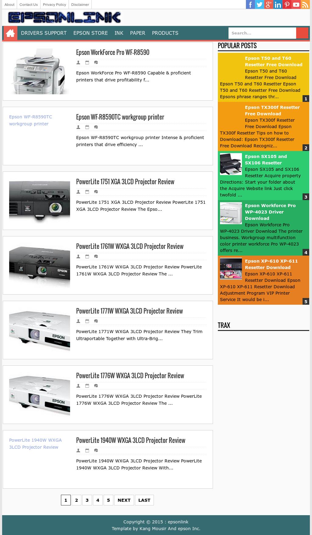 Owler Reports - Epsonlink Blog Epson L555 Resetter Download