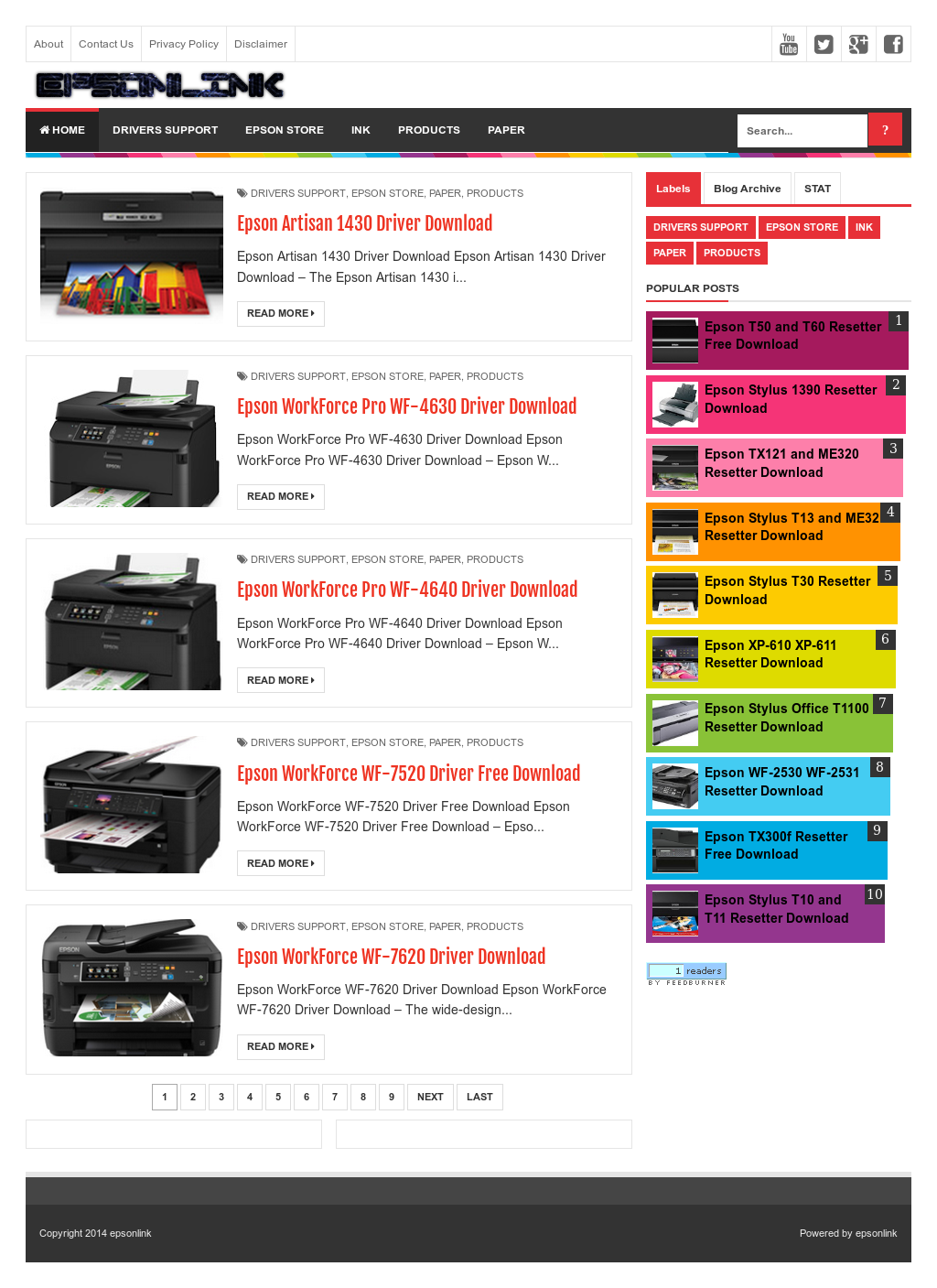 Owler Reports - Epsonlink Blog Epson L1300 Resetter Free