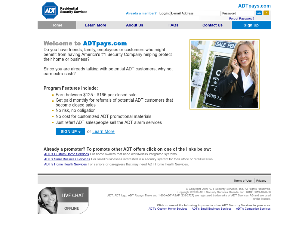 adt security services license number
