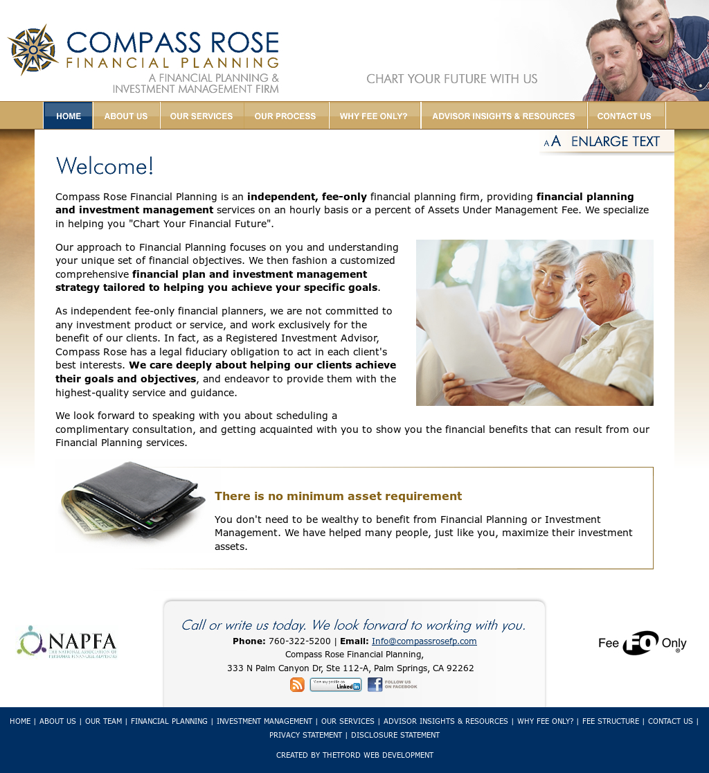 Compass Rose Financial Planning Competitors, Revenue and