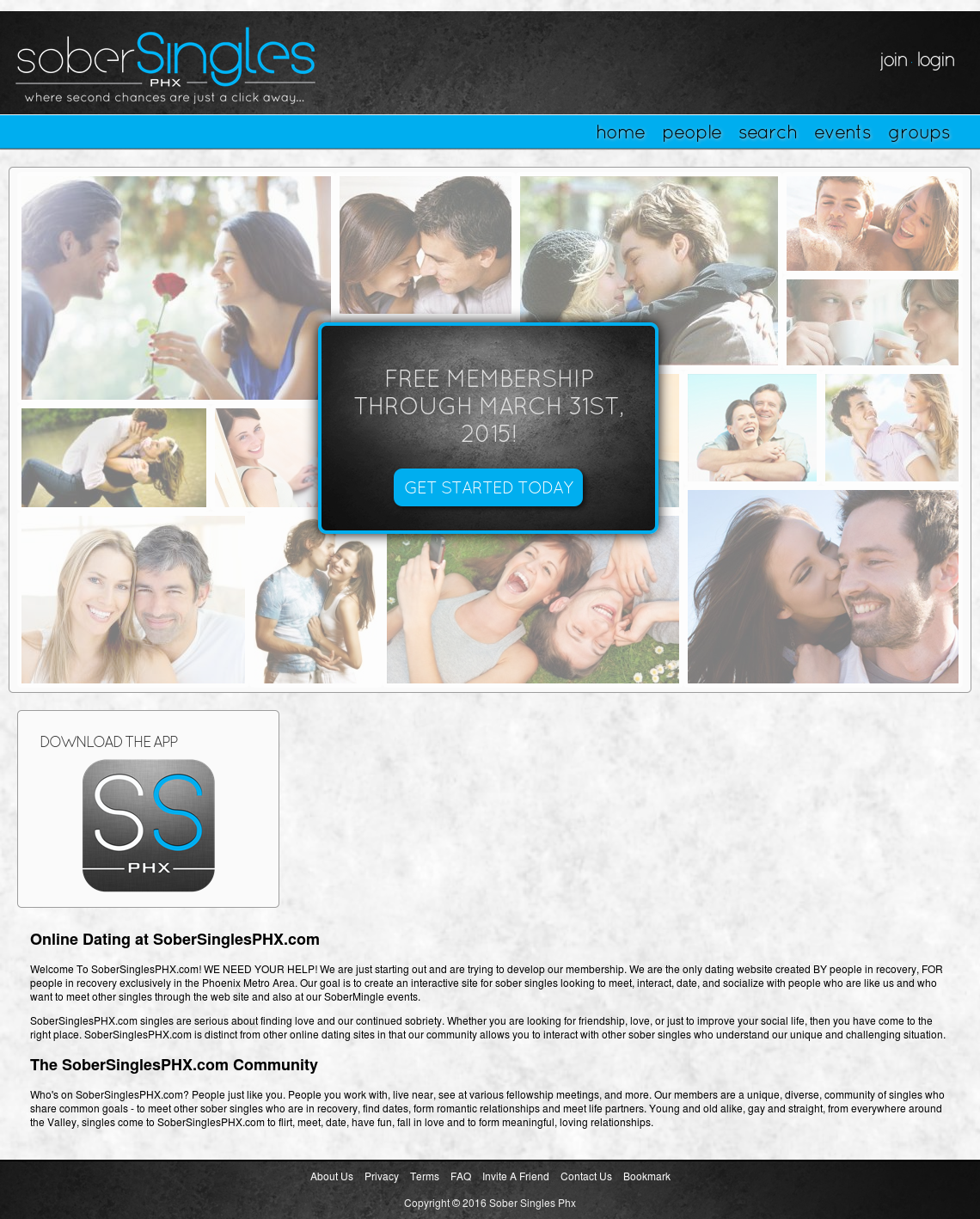 Celebs go dating application