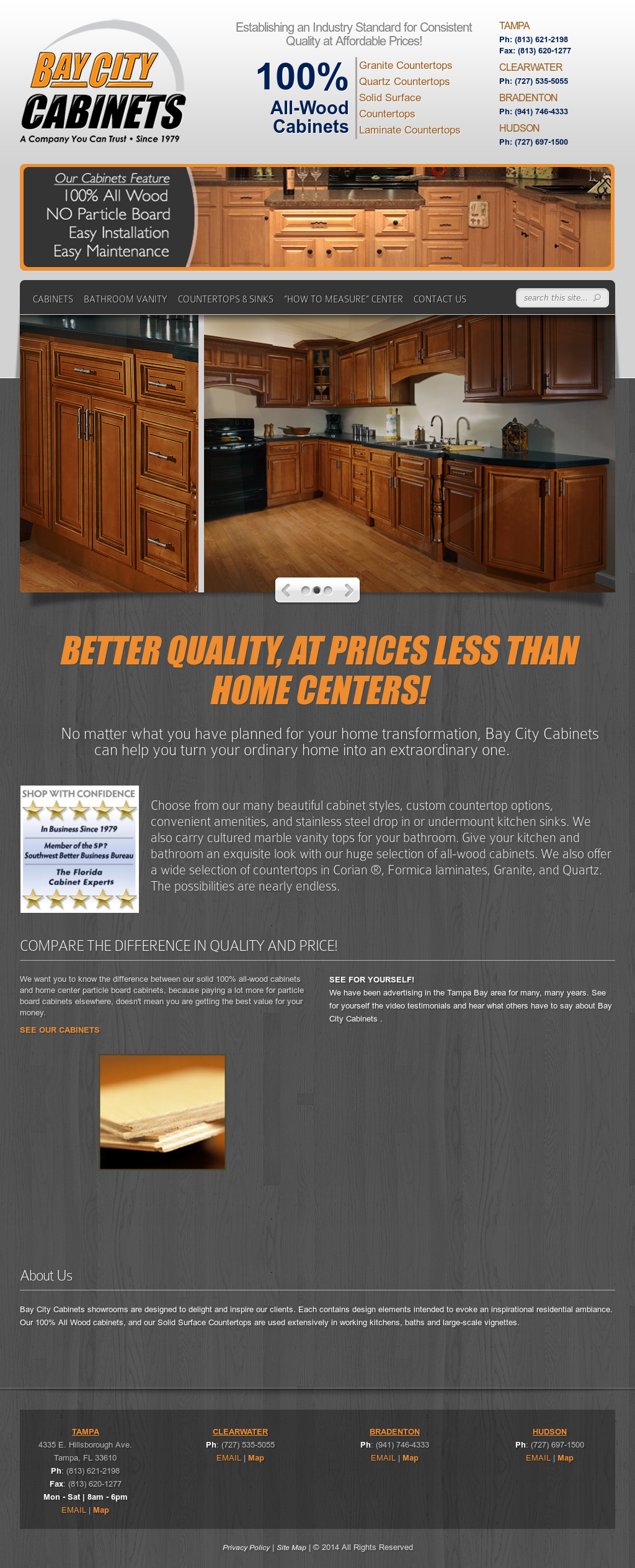 Cabinets By Bay City Plywood Competitors Revenue And