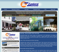 Eastern Awning Systems Website History