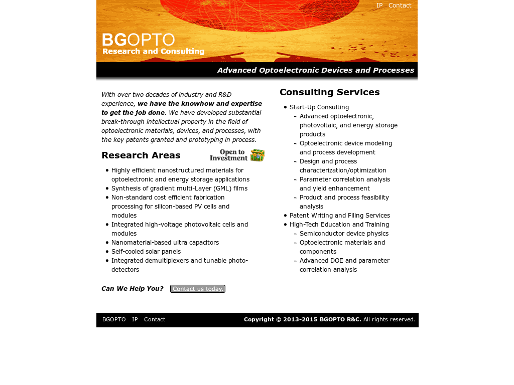 Bgopto Rc Competitors Revenue And Employees Owler Company Profile Optoelectronic Devices Website History