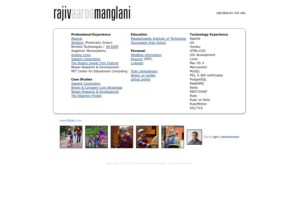 Rajiv Aaron Manglani Competitors, Revenue and Employees