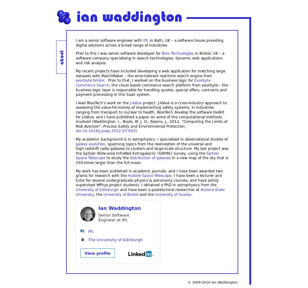 Ian Waddington Competitors, Revenue and Employees - Owler