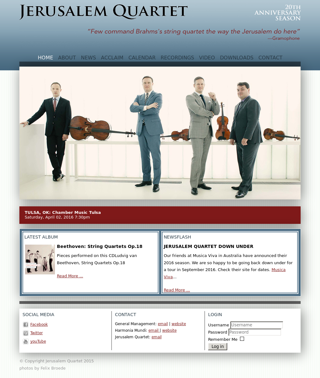 Jerusalem Quartet Competitors, Revenue and Employees - Owler