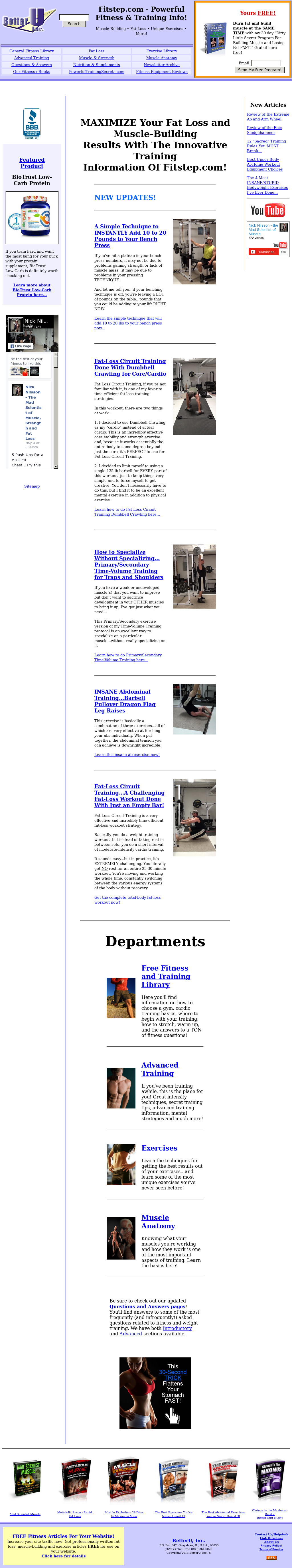Fitstep Competitors Revenue And Employees Owler Company Profile Circuit Works Personal Training Brochure