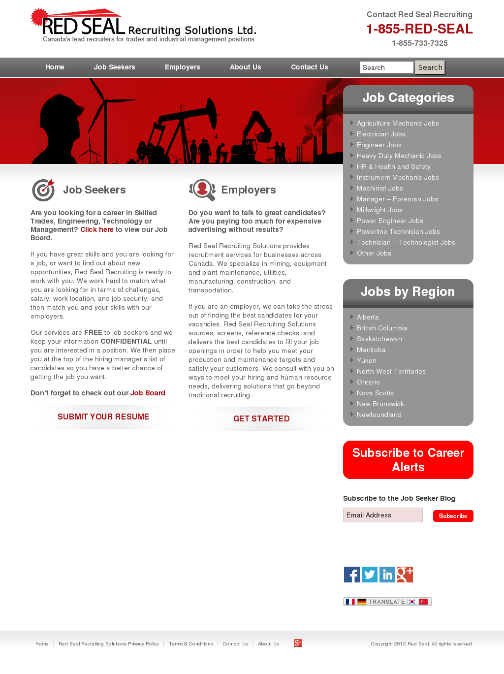 Red Seal Recruiting Solutions Competitors, Revenue and