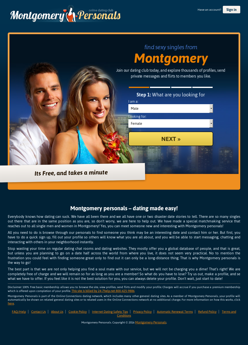Montgomery personals