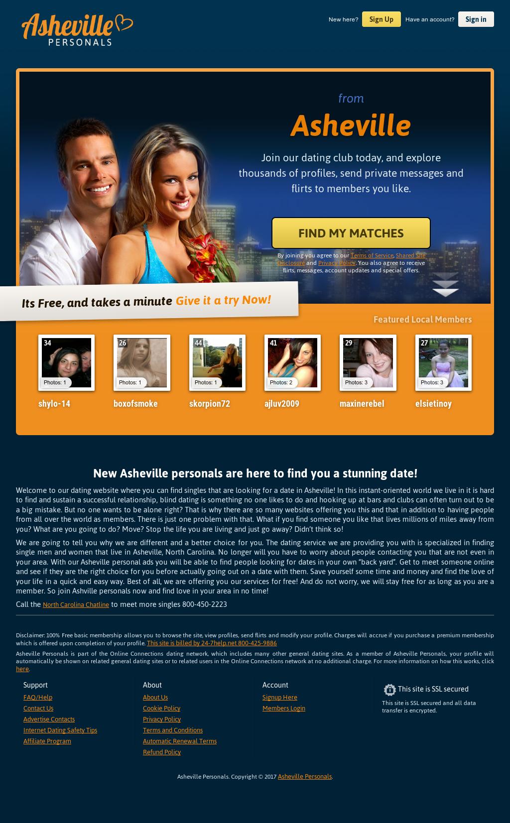 Asheville dating website