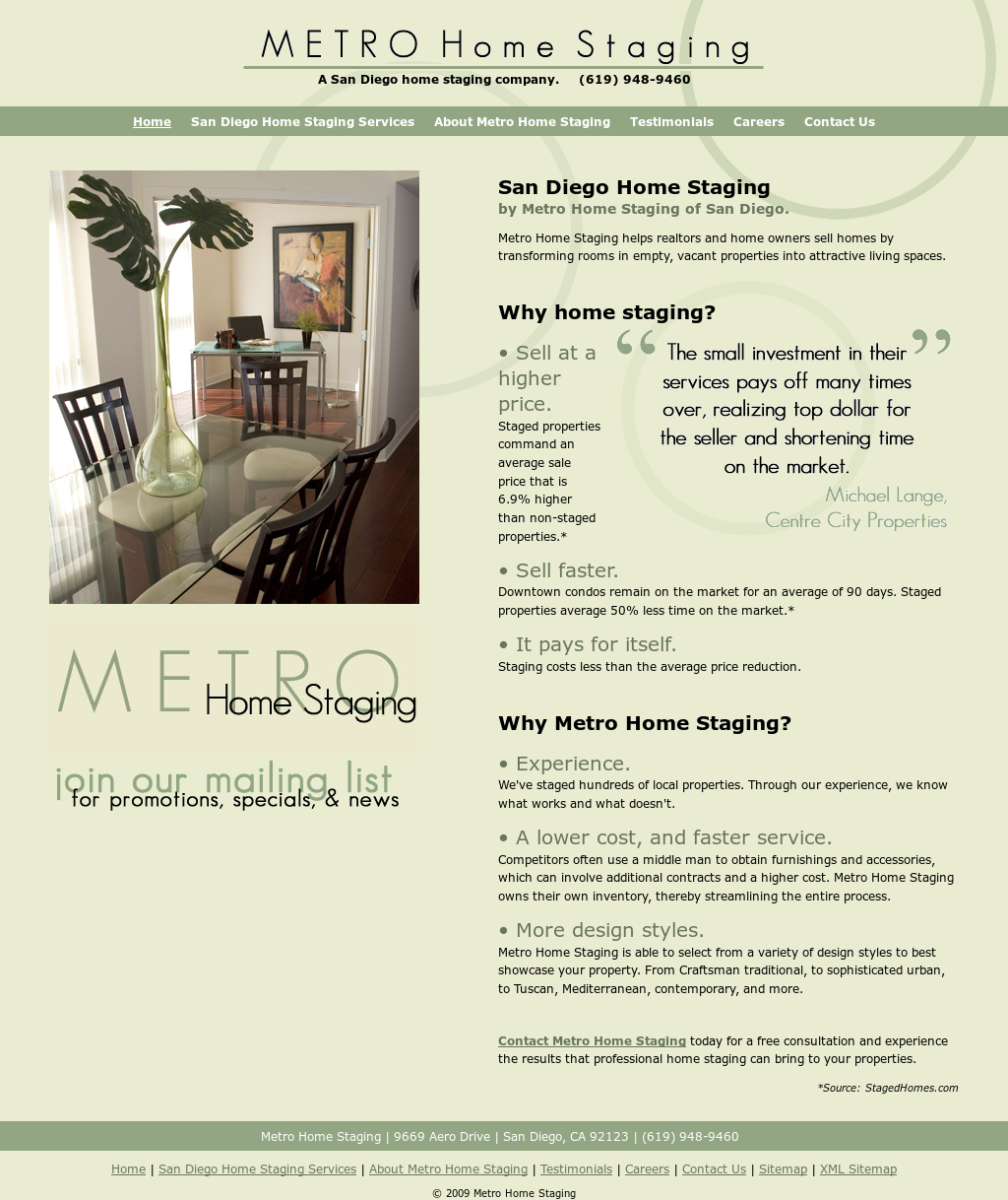 metro home staging competitors revenue and employees owler