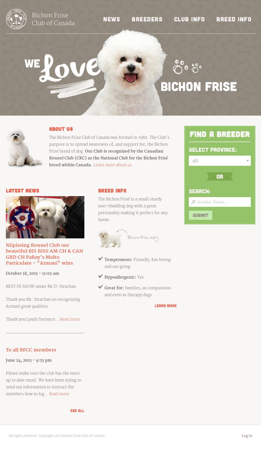 Bichon Frise Club Of Canada Competitors, Revenue and