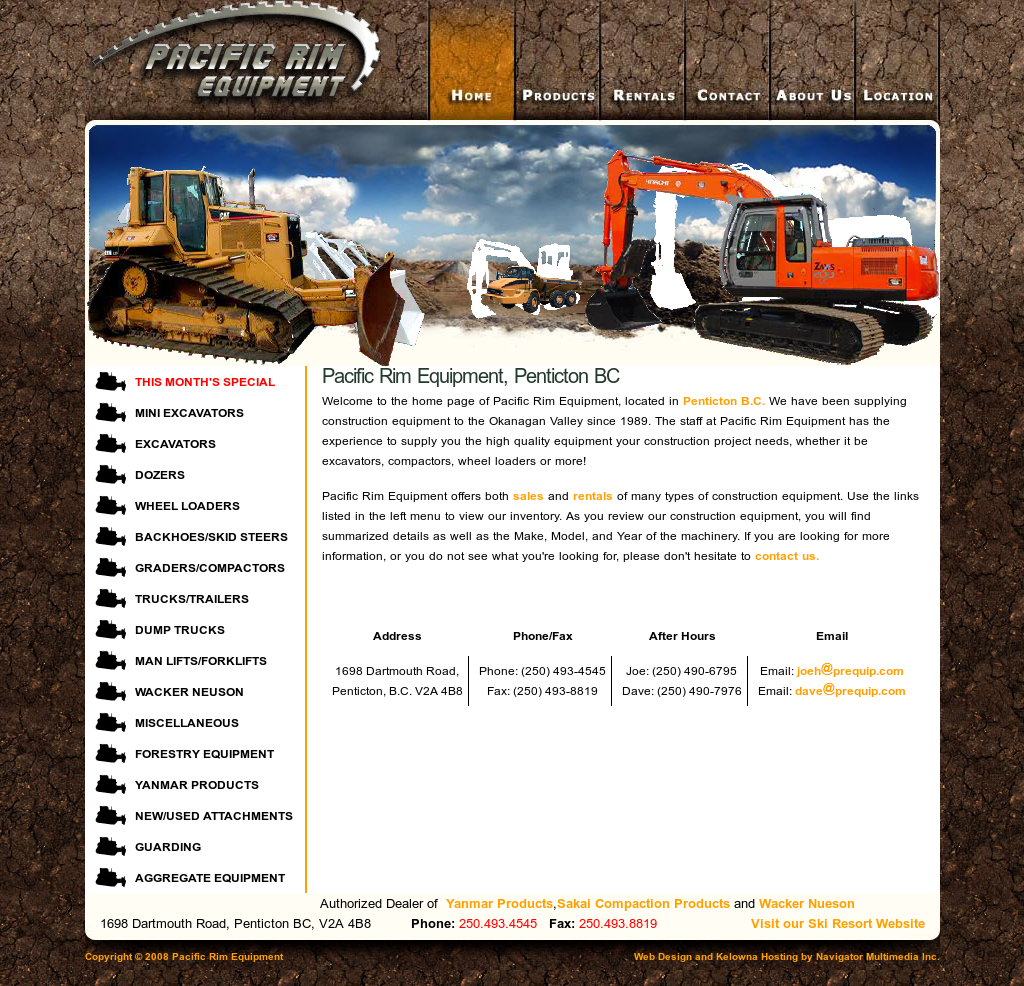 Pacific Rim Equipment >> Pacific Rim Equipment Competitors Revenue And Employees
